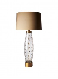 Heathfield Harper Smoke Glass Table Lamp