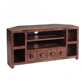 Toko Dark Mango Corner TV Unit