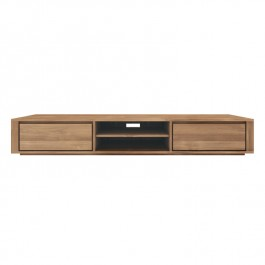 Ethnicraft Large Teak TV Unit Elemental