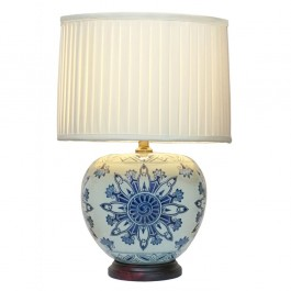 Oriental Wan Hua Tong Table Lamps