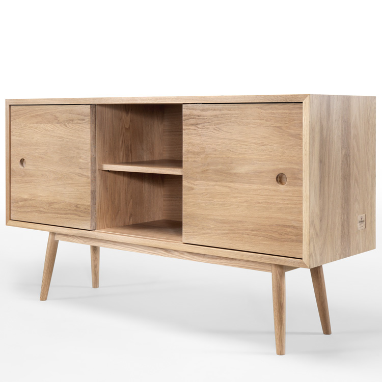 Wewood Solid Wood Sideboards Solid Wood Classic Sideboard 4living