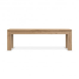 Ethnicraft Oak Bench Straight