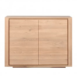 Ethnicraft Small Oak Sideboard Shadow