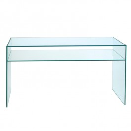 Glass Console Table - Pure