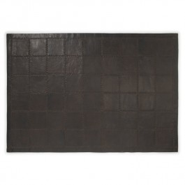 Leather Rug - Vintage Ebony