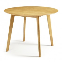 Serene Oak Round Dining Table Croydon