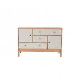 Abbey Wood Sideboard White Painted Oak
