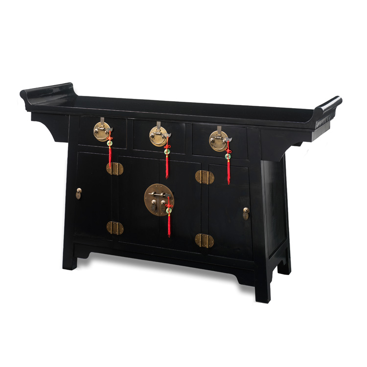 Charmant Oriental Traditional Chinese Style Altar Sideboard | 4 Living