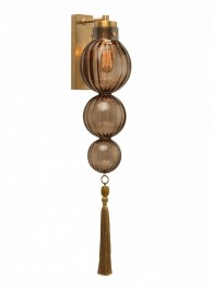Heathfield Lighting Medina Smoke Wall Light