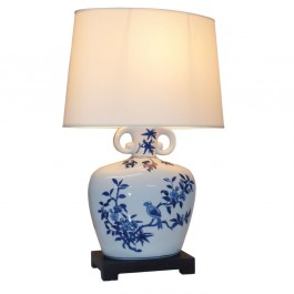 Pair of Oriental Table Lamps Zhi Que