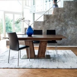 Skovby Walnut Extending Dining Table #39 (lifestyle)