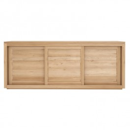 Ethnicraft Oak Sideboard Pure 3 Door