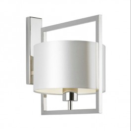 Heathfield Lighting Conniston Nickel Wall Light