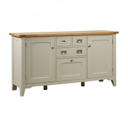 Bordeaux Cool Grey Large Sideboard