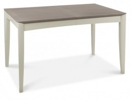 Bergen Washed Oak & Soft Grey Extending Dining Table