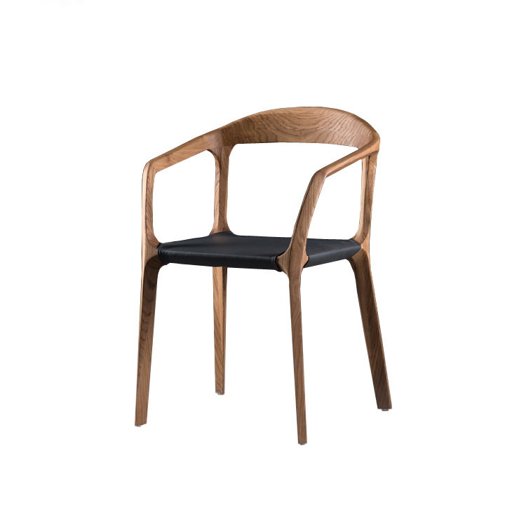 Solid oak dining chair kanon artisan for Furniture quick delivery