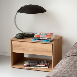 Ethnicraft Oak Nightstand Nordic