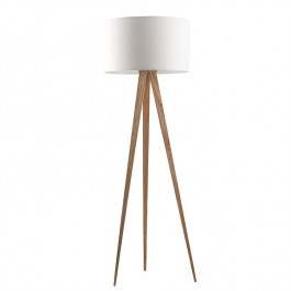 Tripod White Floor Lamp