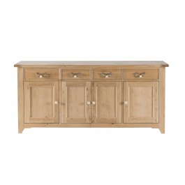 Oak 4 Door Sideboard Gloucester