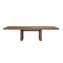 Ethnicraft Extending Large Teak Dining Table