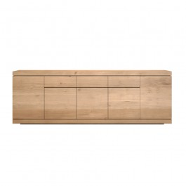 Ethnicraft Oak Sideboard Burger 5 Door