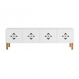 Contemporary White Sideboard - Scatola