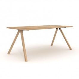 Oak Dining Table Flow