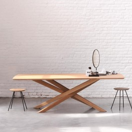 Ethnicraft Oak Dining Table Mikado