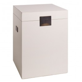 White Lacquer Chinese Trunk