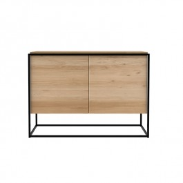 Ethnicraft Oak Sideboard Monolit Black