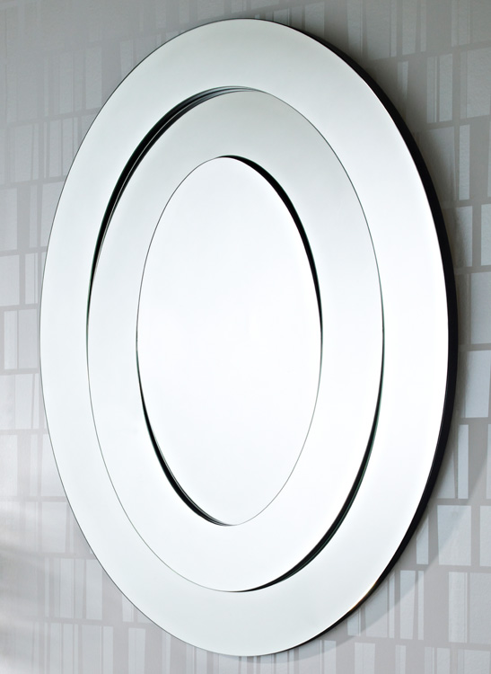 Deknudt saturn mirror modern designer mirrors at 4 living for Contemporary mirrors