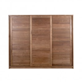 Ethnicraft Large Teak Wardrobe KD