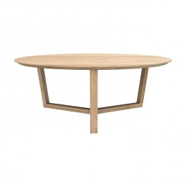 Ethnicraft Oak Tripod Coffee Table