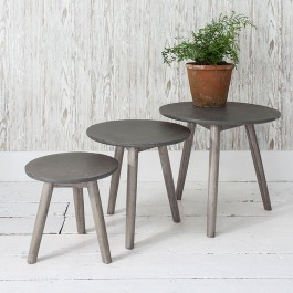 Nest of Tables Grey Bergen Hudson Living