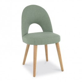 Aqua Upholstered Dining Chair - Oslo