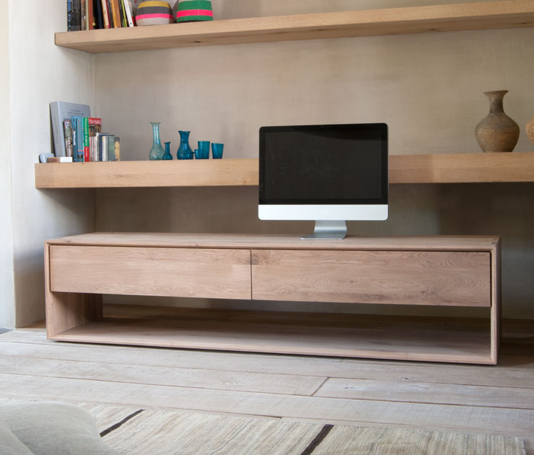 Contemporary Nordic Oak Tv Unit By Ethnicraft 4living