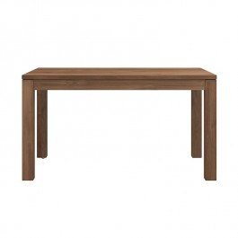 Ethnicraft Teak Extendable Dining Table Kubus