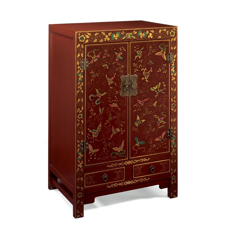 Image 1 for Red chinese furniture