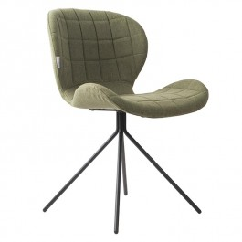 Pair of Green Zuiver OMG Chairs