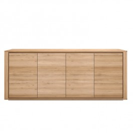 Ethnicraft Oak Sideboard Shadow 4 Door