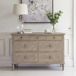 Mustique 7 Drawer Chest Hudson Living