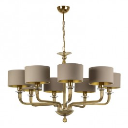 Heathfield Lighting Czarina Gold 8 Arm Chandelier