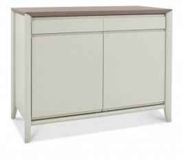 Bergen Washed Oak & Soft Grey Narrow Sideboard