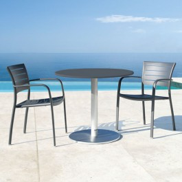 Westminster Aluminium Pedestal Table