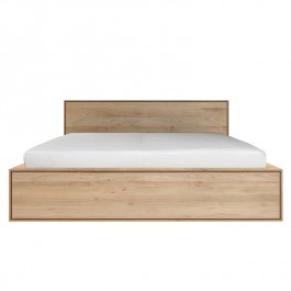 Ethnicraft Oak Storage Bed Nordic II
