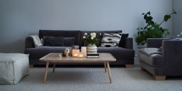 SITS Brandon 3 Seat Contemporary Sofa