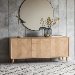 Gallery Milano 2 Door, 3 Drawer Sideboard
