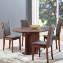 Skovby Walnut Extending Dining Table #72 (lifestyle)