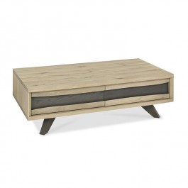 Bentley Oak Coffee Table With Drawer Cadell