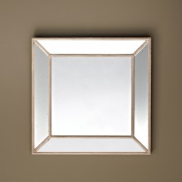 Square Mirror - Rustic